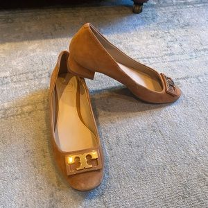 Tory Burch suede shoes